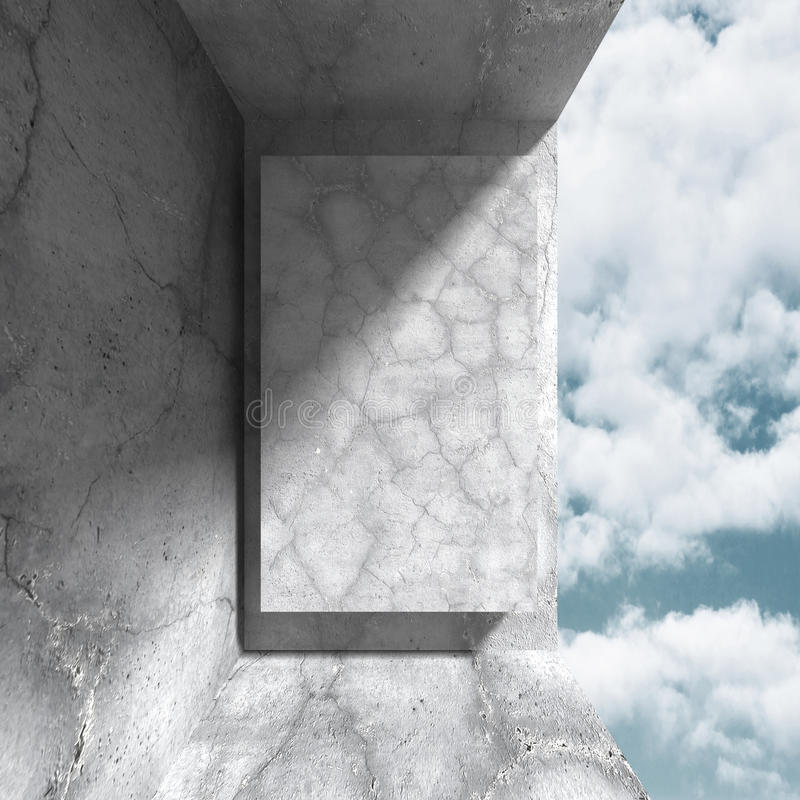 Download Konkret Arkitekturbakgrund Modern Desig För Abstrakt Byggnad Stock Illustrationer - Illustration av utgångspunkt, smutsigt: 78729379