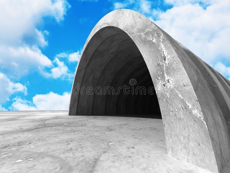 Download Konkret Arkitekturbakgrund Modern Desig För Abstrakt Byggnad Stock Illustrationer - Illustration av cement, begrepp: 78731154