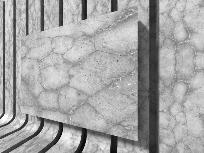 Download Konkret Baner För Tom Vägg Teckning För Blå Kompass För Arkitekturbakgrund Djup över Stock Illustrationer - Illustration av lokal, skugga: 78730764