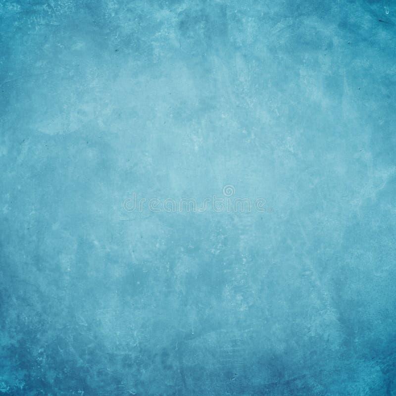 Konkret blå grungebakgrund arkivbilder