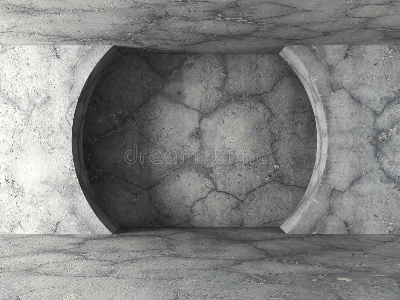 Download Konkret Geomentric Arkitekturvägg För Mörker Modernt Stads- Tomt R Stock Illustrationer - Illustration av smutsigt, snitt: 78729278