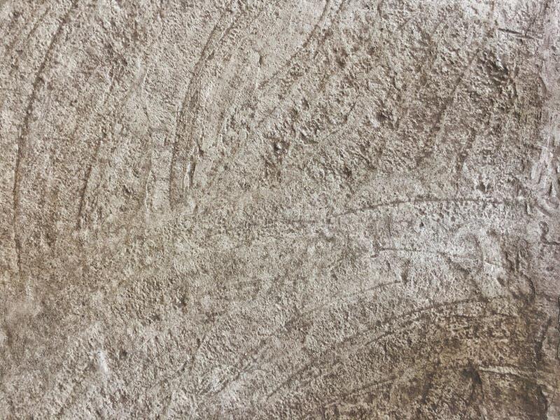 konkret golv, cement med krabba modeller, grå färger, dekor för hemmet, bakgrundstextur, tapet arkivbild