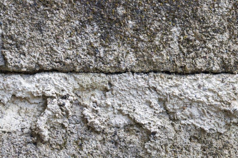 konkret grå texturvägg för bakgrund Bekymrad stenyttersida Sjaskig chic designmall royaltyfri bild