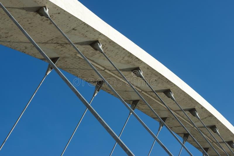 konkret modernt för bro arkivfoton