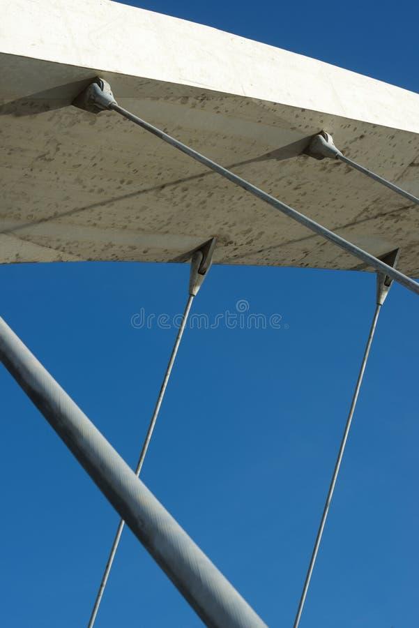 konkret modernt för bro fotografering för bildbyråer