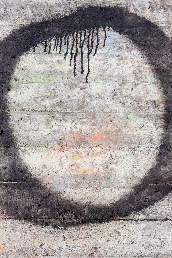 konkret riden ut texturvägg royaltyfri foto