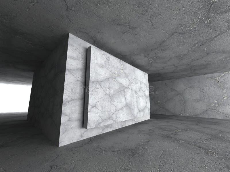 Download Konkret Stads- Arkitekturbakgrund För Mörker Stock Illustrationer - Illustration av garnering, horisontal: 78729821