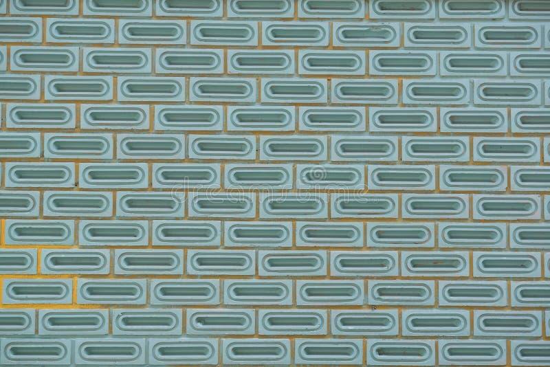 Konkret tegelstenbakgrund royaltyfri bild