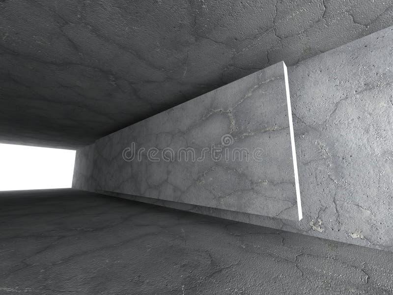 Download Konkret Tomt Stads- Rum Mörka Stenväggar Arkitekturbackgr Stock Illustrationer - Illustration av inom, celling: 78731852