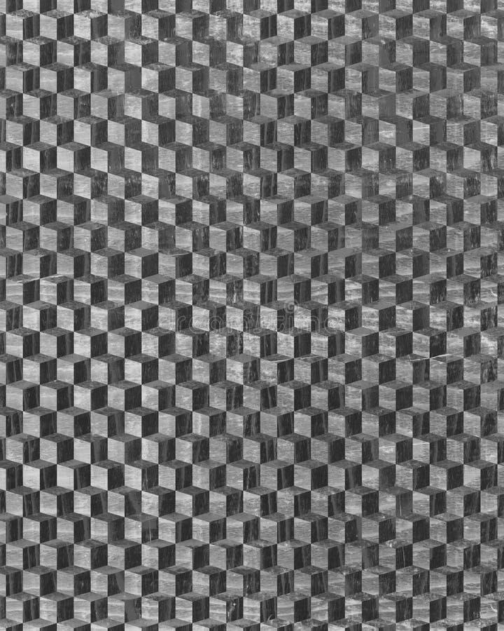 konkreta kvarter 3D royaltyfri fotografi