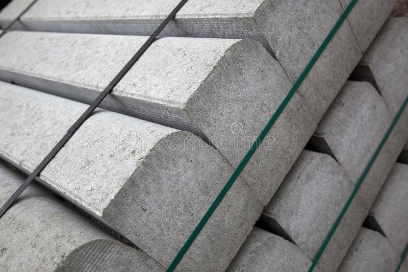 Konkrete Bausteine lizenzfreie stockfotos