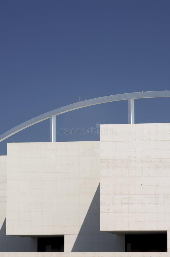 Konkrete Fassade lizenzfreies stockbild