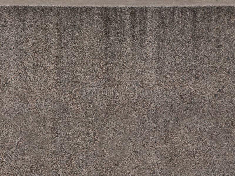 Konkrete Zementwand des Schmutzes Nahtlose graue Betonmauerbeschaffenheit der Nahaufnahme stockfoto