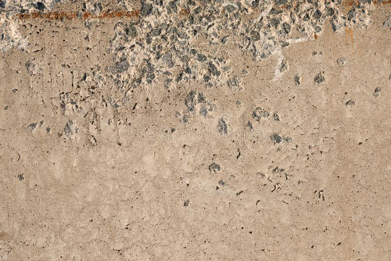 Konkreter Abschluss herauf den Hintergrund rustikal stockbild