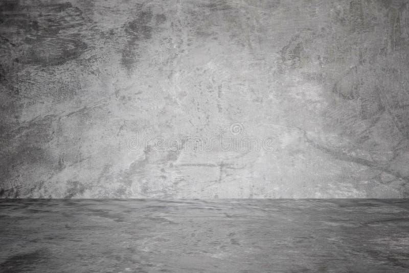 Konkreter Beschaffenheitshintergrund Konkrete Zementwand und -boden stockfotografie