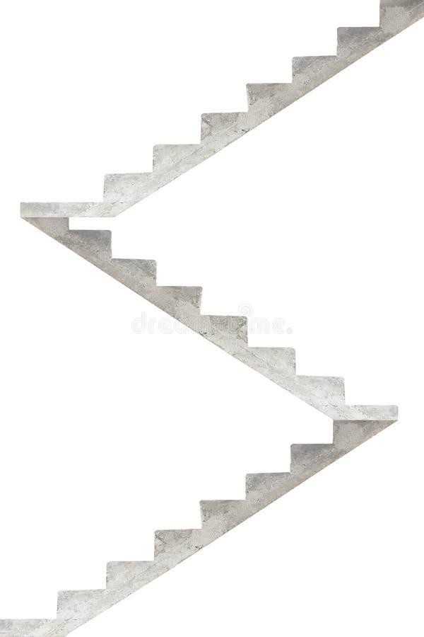 Konkretes Treppenhaus vektor abbildung