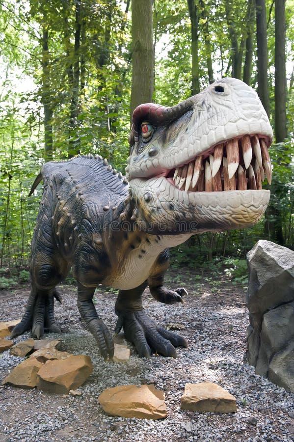 Konkurrenzfähiger Dinosaurier lizenzfreie stockfotos