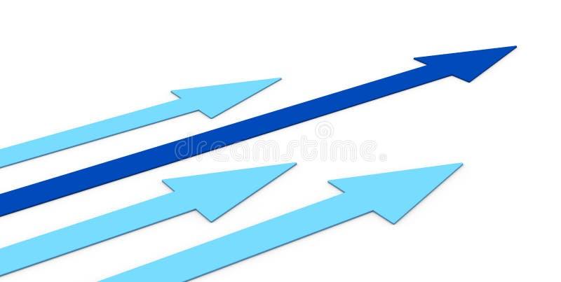 Konkurrenzkonzept vektor abbildung