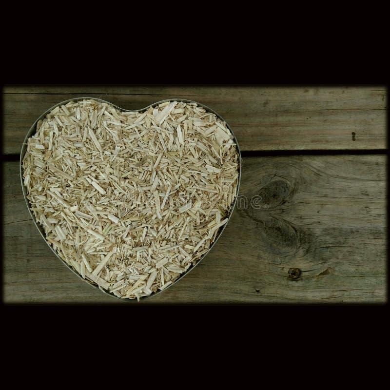 Konopiany serce - Konopiana budowa obrazy stock