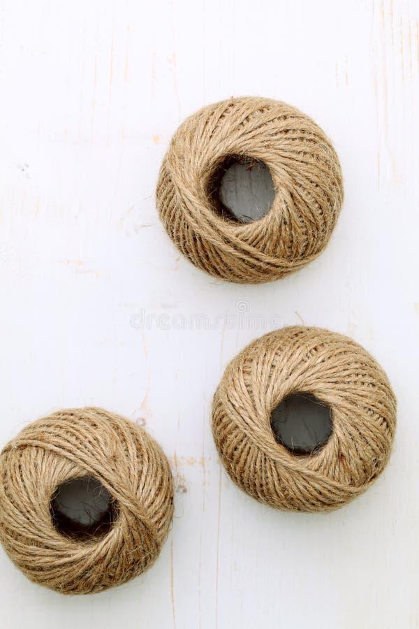 konopie sznurek fotografia stock