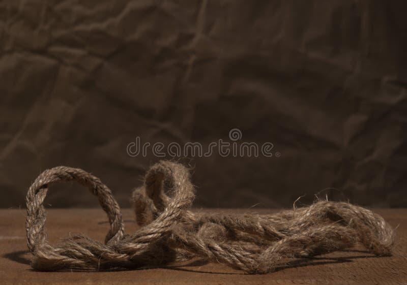 konopie szorstki linowy obraz royalty free