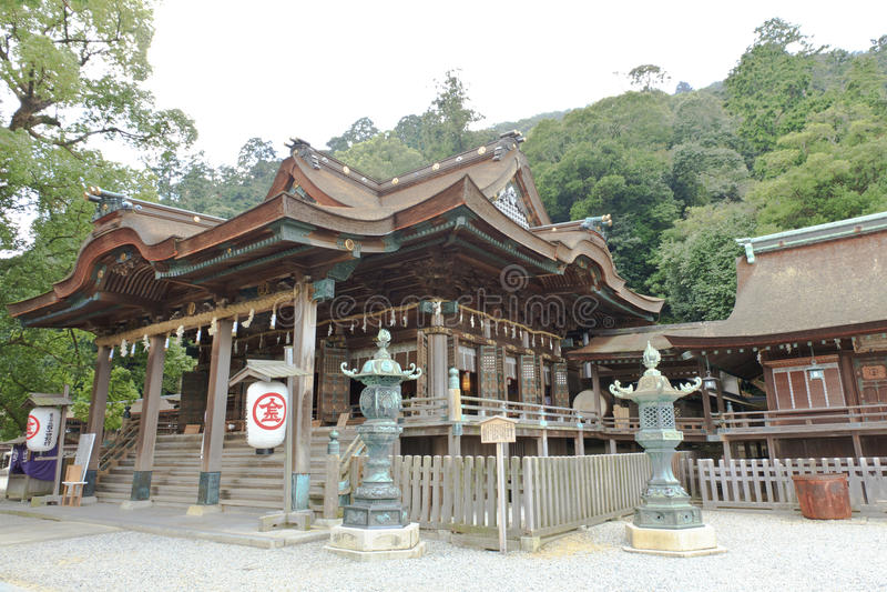 Konpira寺庙 库存照片