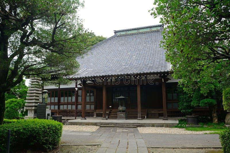 Konren-in Buddhist temple, Tokyo, Japan. Konren-in Buddhist temple in Tokyo, Japan stock image