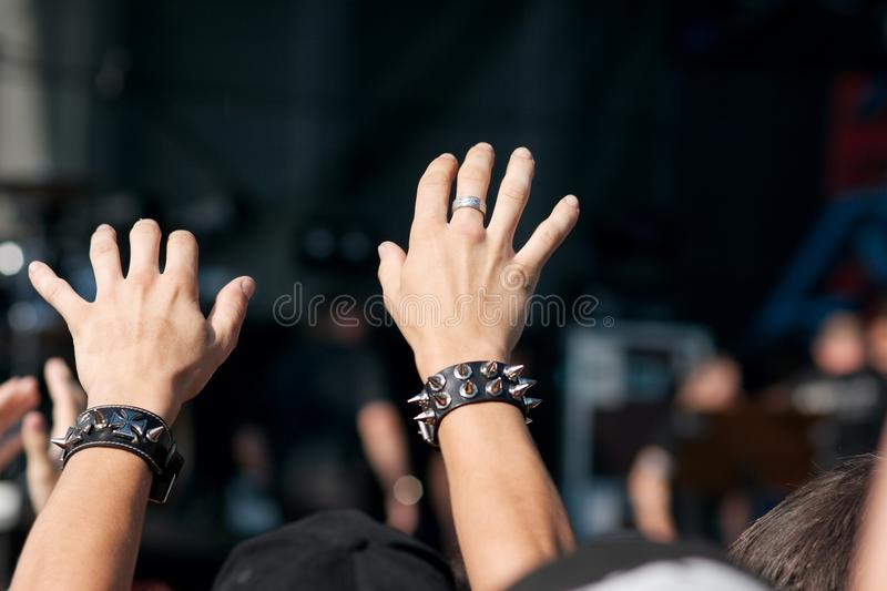 konsert royaltyfri foto