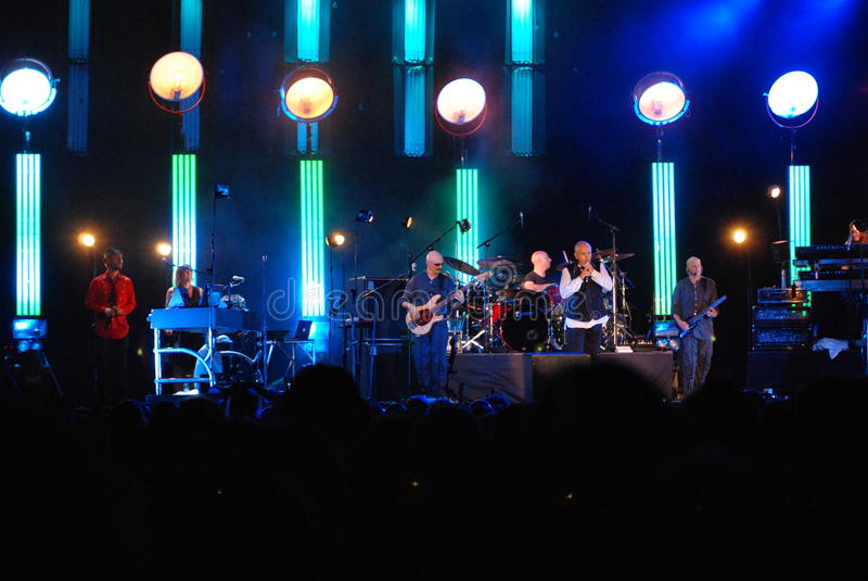 konsert gabriel peter royaltyfri fotografi