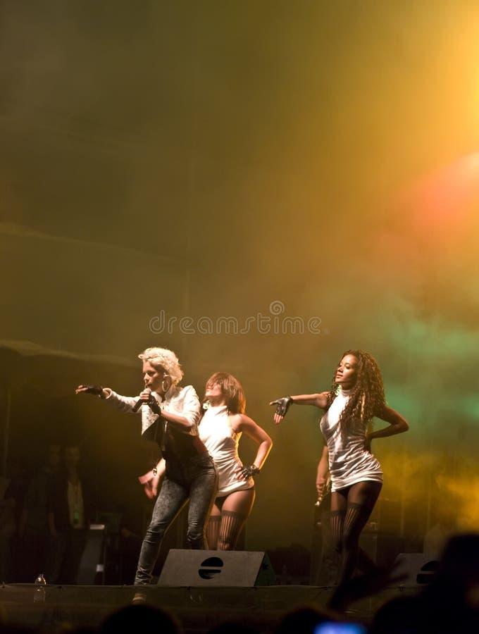 konsert september royaltyfria bilder