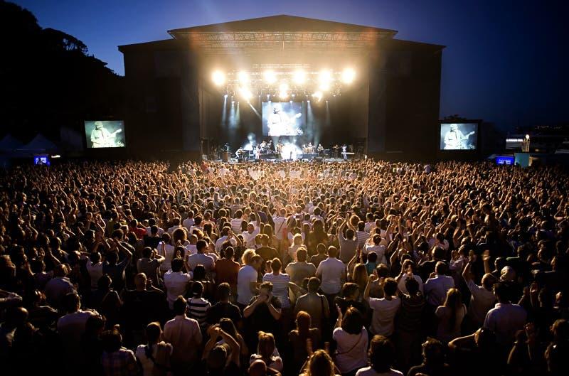 konserter royaltyfria bilder