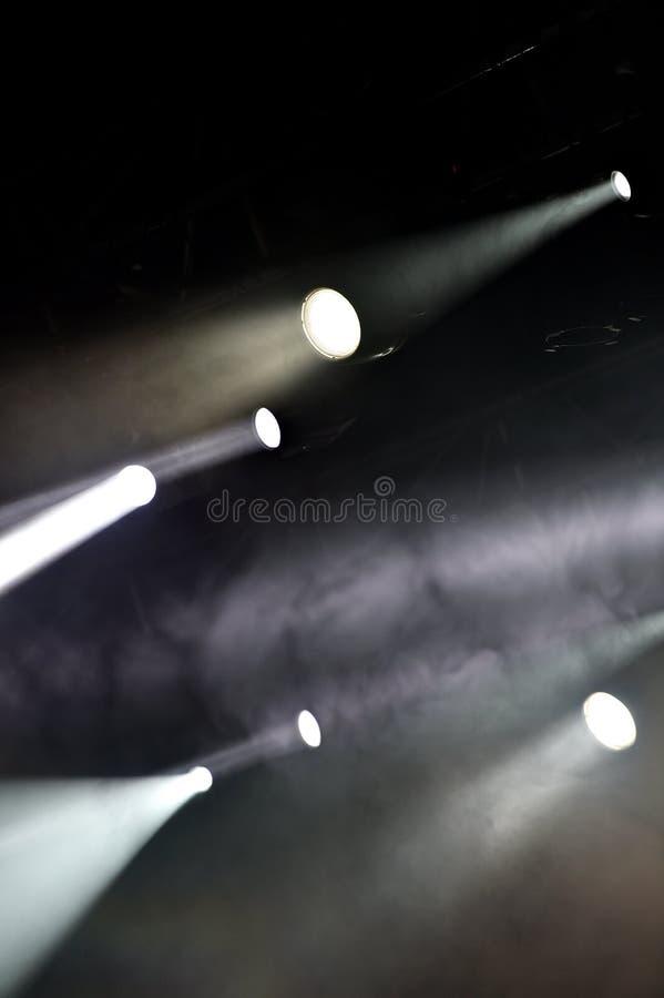Konsertetappljus fotografering för bildbyråer