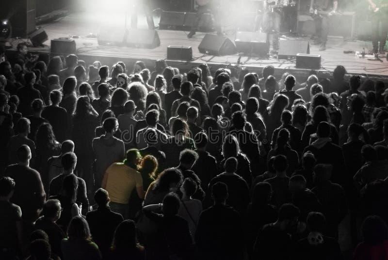 Konsertparkel arkivbilder