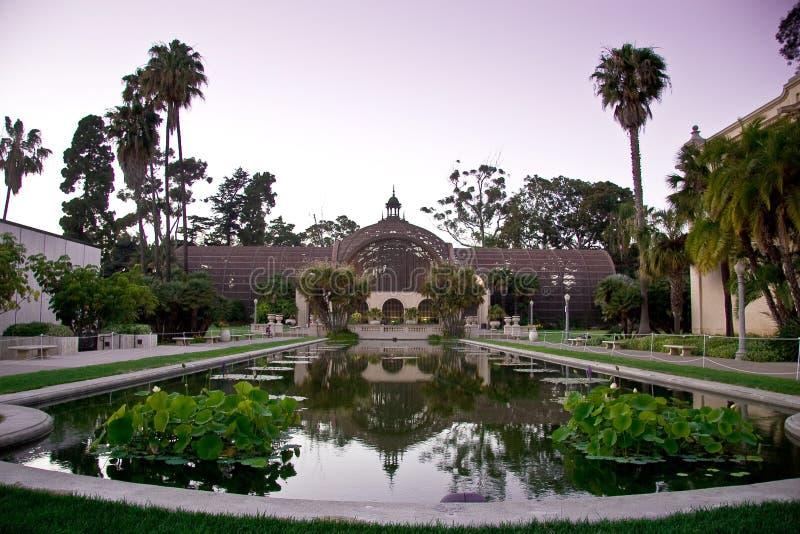 Konservatorium der Blumen, Balboa-Park, San Diego lizenzfreie stockbilder