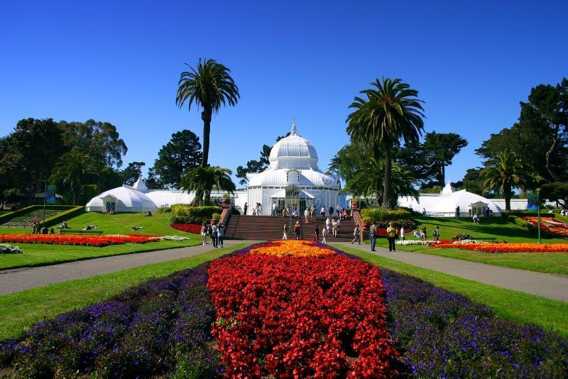 Konservatorium der Blumen, San Francisco lizenzfreie stockfotos
