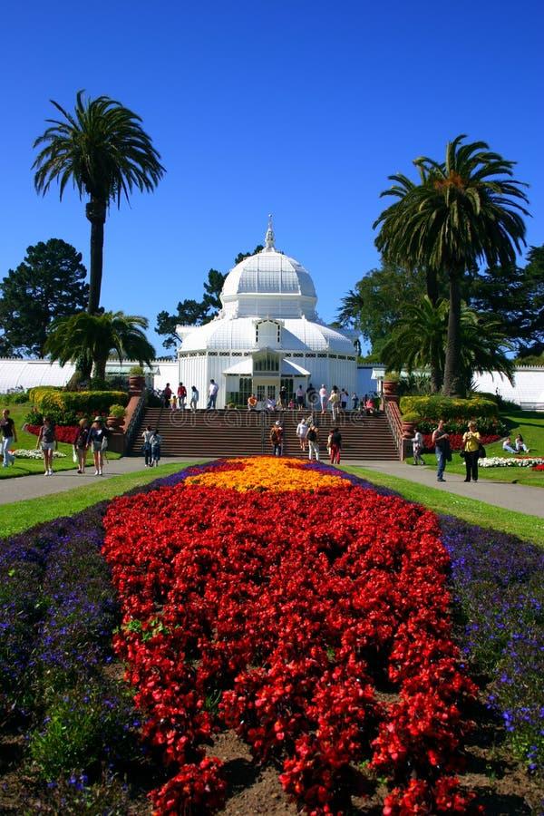 Konservatorium der Blumen, San Francisco lizenzfreie stockbilder