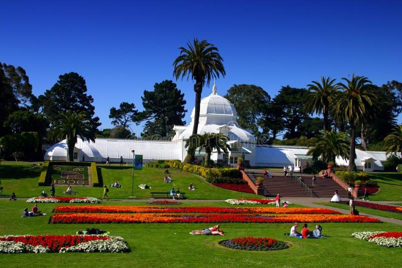 Konservatorium der Blumen, San Francisco stockbilder