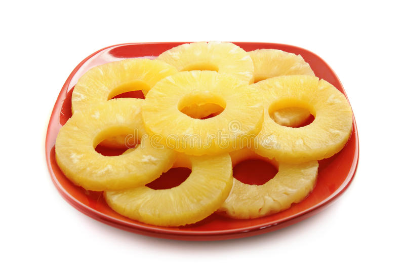 Konserwować ananas obraz royalty free
