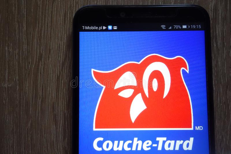 Alimentation Couche-Tard Inc. Logo Displayed On A Modern ...
