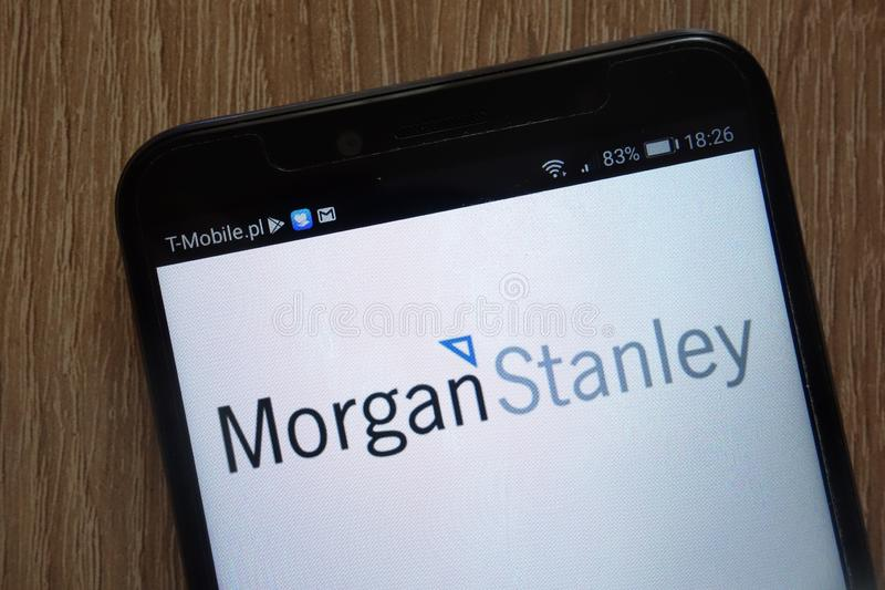 Morgan Stanley logo editorial image  Image of emblem - 105662715