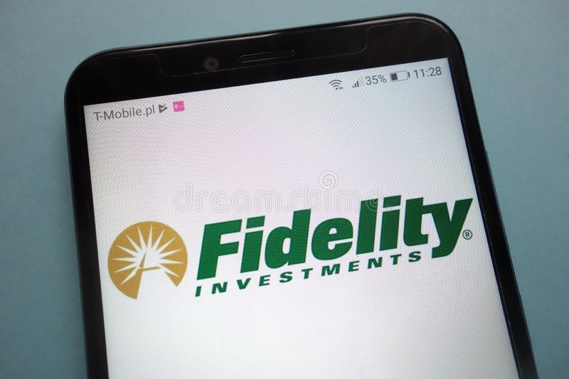 Fidelity Investments Branch Editorial Stock Photo - Image of window