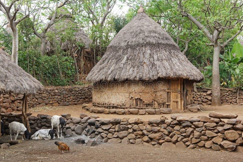 Konso, Ethiopië, Afrika stock foto
