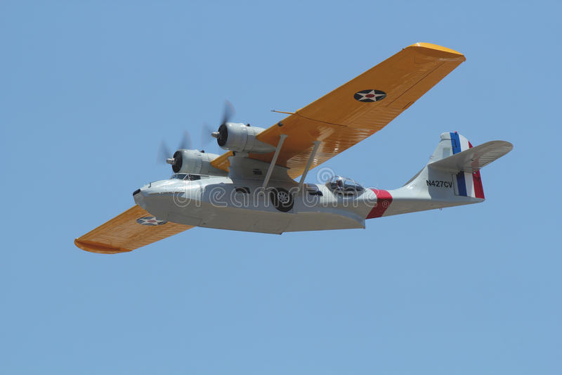 Konsoliderad PBY Catalina royaltyfri foto