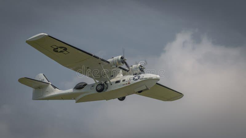Konsoliderad PBY Catalina arkivbilder
