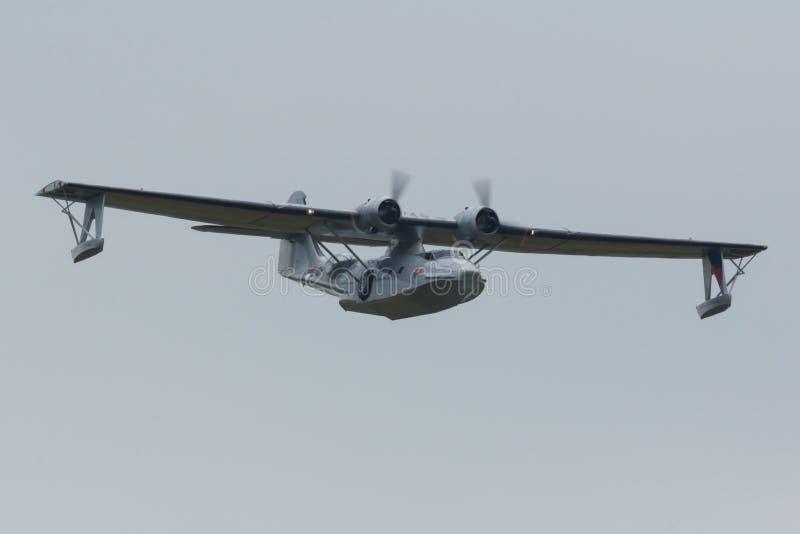 Konsolidujący PBY-5 Catalina zdjęcia stock
