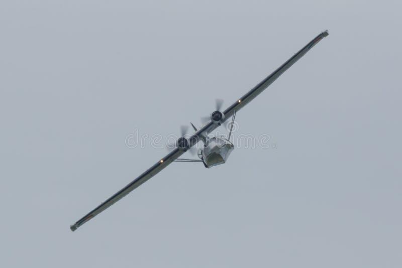Konsolidujący PBY-5 Catalina zdjęcia royalty free
