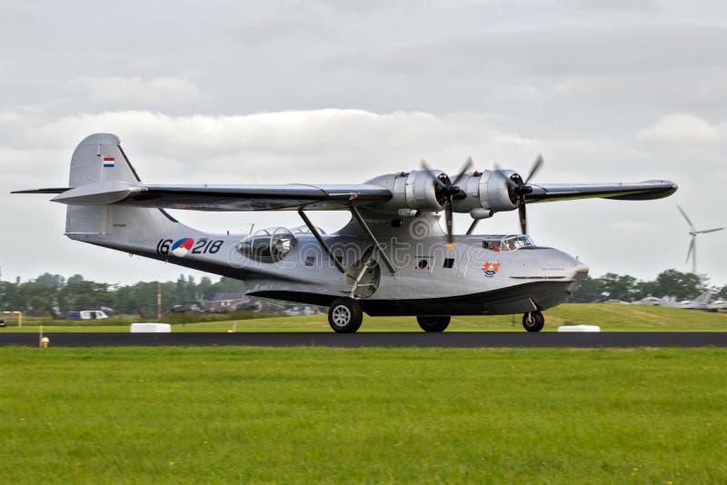 Konsolidujący PBY Catalina fotografia stock