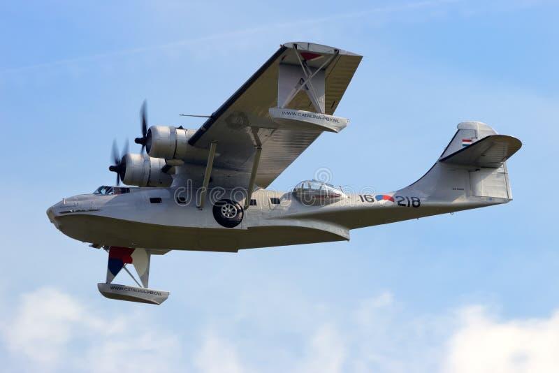 Konsolidujący PBY Catalina fotografia royalty free