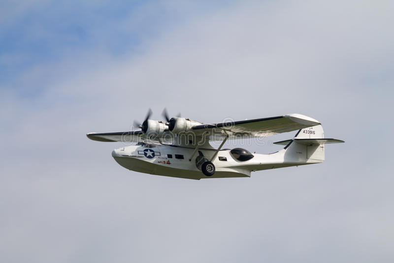 Konsolidujący PBY Catalina zdjęcia stock