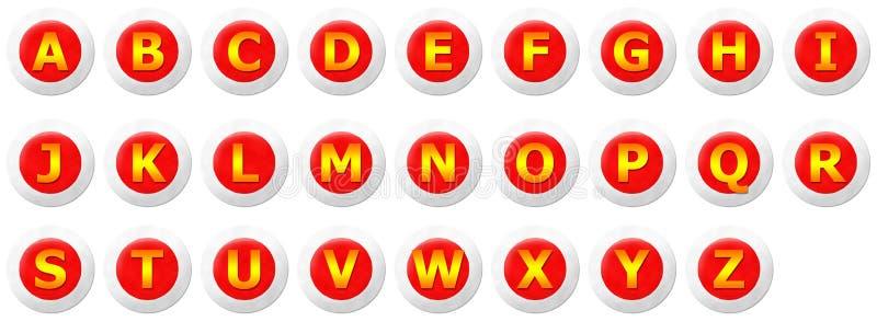 Konsonant-Satz stock abbildung